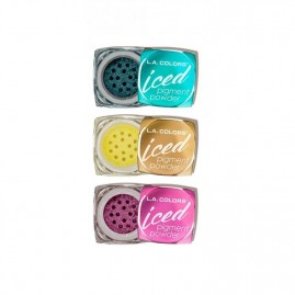L.A. Colors Švytintys Pigmentai Iced Pigment Powder