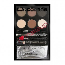 L.A. Colors Rinkinys Antakiams I Heart Make Up Medium to Dark