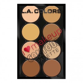 L.A. Colors Kontūravimo Paletė I Heart Make Up Light to Medium