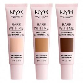 NYX Professional Makeup Bare With Me Tinted Skin Veil Makiažo Pagrindas